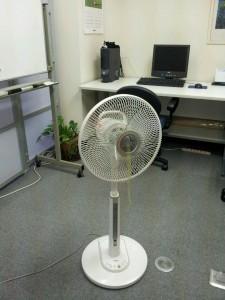 スクールの扇風機